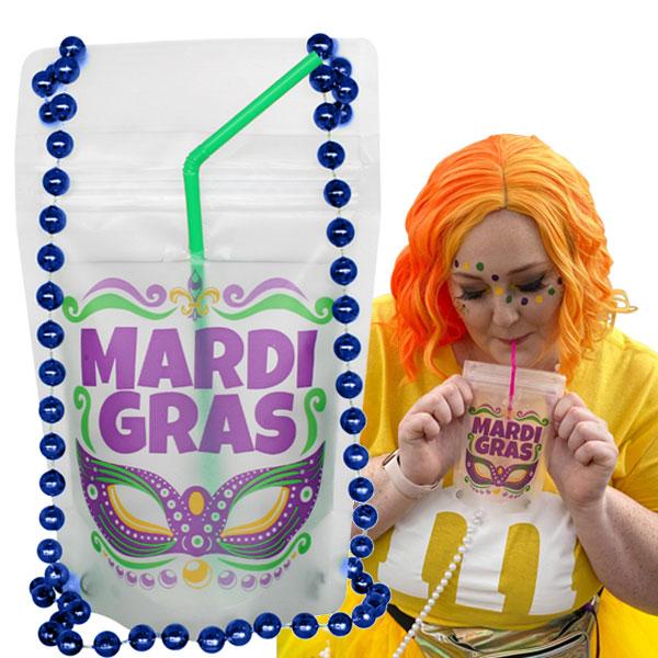 Mardi-gras-drink-pouch