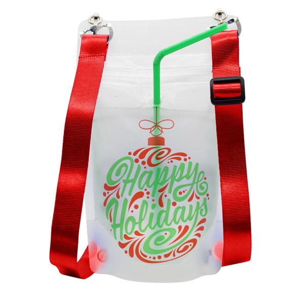 Happy Holidays Necksip Drink Pouches (19)