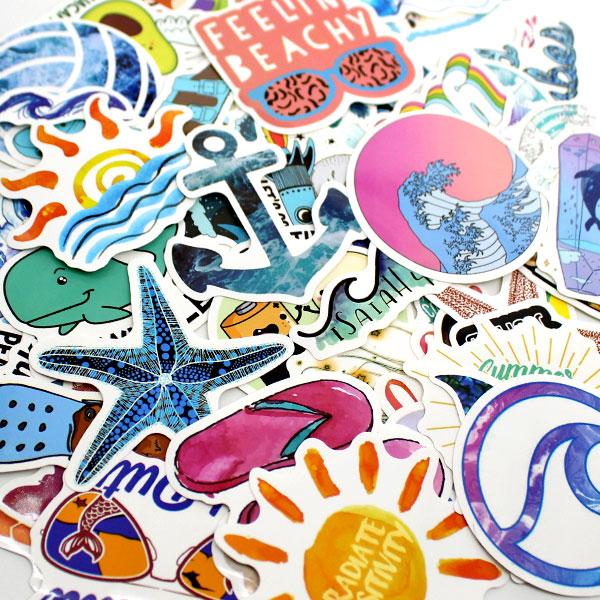 Beach-sticker-drink-pouches