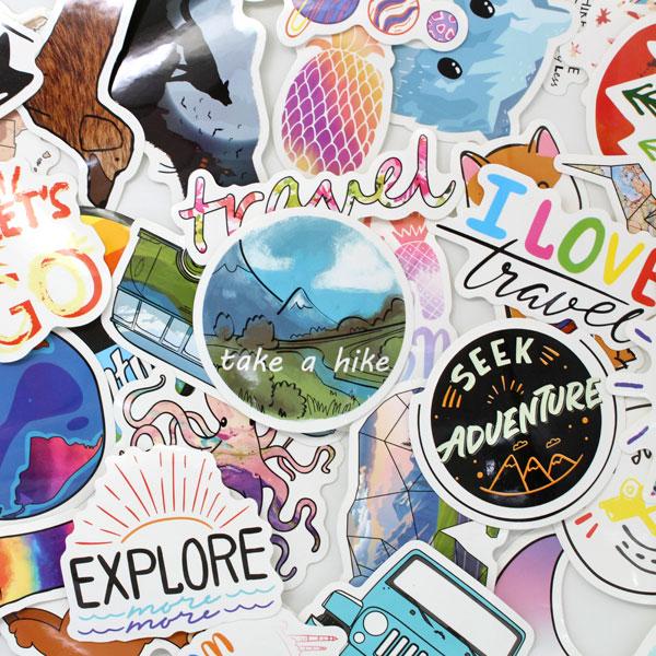 Necksip Travel Stickers (1)