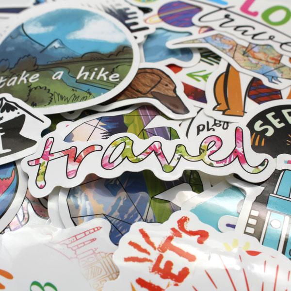 Necksip Travel Stickers (2)
