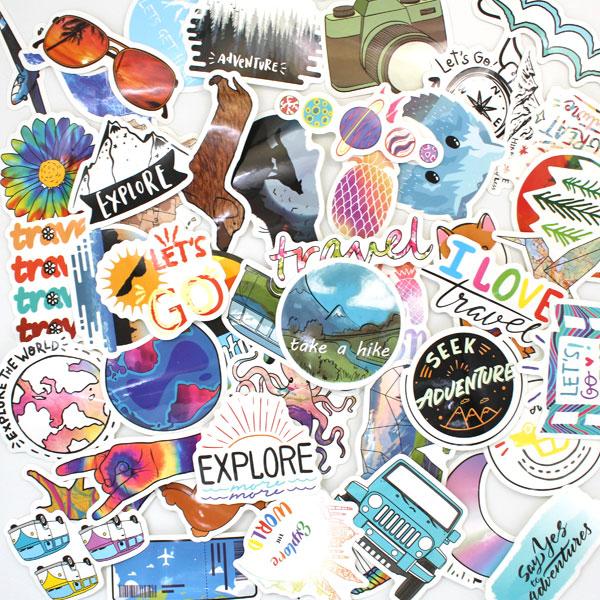Necksip Travel Stickers (3)